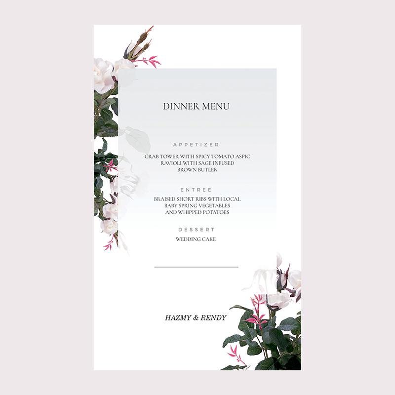 Insyia & Rendy Wedding Invitation