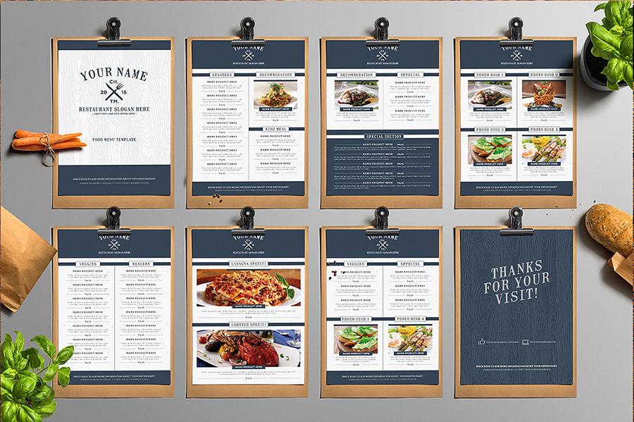 jasa desain menu solo